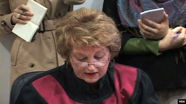 Predsednica Ustavnog suda Crne Gore, Fetija Međedovic