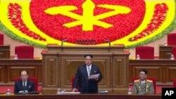 کیم جونگ اون رهبر کره شمالی، برخلاف پدرش این کنگره را بعد از حدود چهاردهه برگزار کرد.