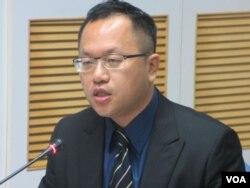 台湾法务部国际及两岸法律司检察官梁光宗