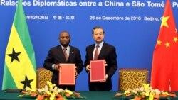 São Tomé e Príncipe e China restabelecem relações diplomáticas