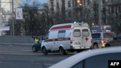 Множественное ДТП в Москве