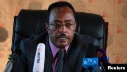 Redwan Hussein, umuvugizi wa Leta ya Etiyopiya mu bihe bidasanzwe akaba n'Umunyamabanga wa Leta ushinzwe ububanyi n'amahanga