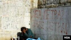 Afectada por una severa crisis económica desde 2011, Grecia ha visto crecer los problemas sociales, como el de personas sin hogar.
