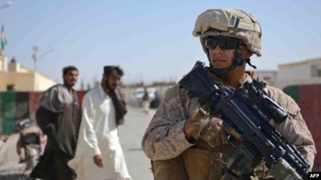 아프가니스탄 주둔 미군. (자료사진)