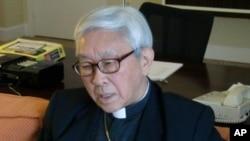 天主教香港教区荣休主教陈日君枢机