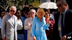 Принц Чарльз и леди Камилла