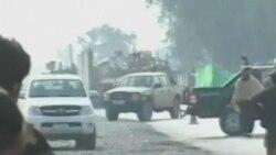 阿富汗抗议出现自杀式袭击导致9人死