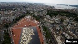 Swiss memulai referendum mengenai pendapatan pokok tanpa syarat, pads hari Minggu, 5 Juni 2016.