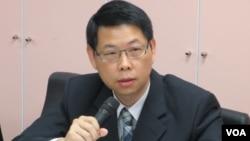 台湾国安局组长 许光武(美国之音 张永泰拍摄)