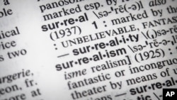 لغتنامه مریام -وبستر، کلمه سال «سورئال»