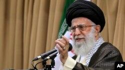 伊朗最高領導人哈梅內伊(資料圖片)