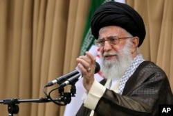 Lãnh tụ tối cao Iran Ayatollah Ali Khaminei.