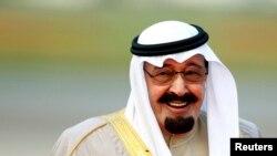Photo d'archives: le roi Abdallah d'Arabie saoudite, 29 octobre 2007.