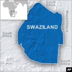 Swaziland Police Beat, Arrest Protesters