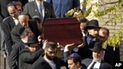 Sahrana žrtve Joyce Fienberg