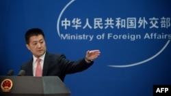 中国外交部发言人陆慷 (资料照片)