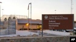 Trại giam ở Safford, Arizona, nơi can phạm Fernando Gonzalez thụ án