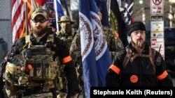 Учасники протесту у Ричмонді, Вірджинія, 20 січня 2020 року
