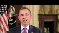 奧巴馬總統美國之音70周年錄像賀詞