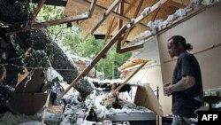 Місцевість у Меріленді після урагану «Айрін»
