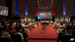 Altos funcionarios de los 25 estados miembros de la organización, llevan a cabo la reunión, en la que participa su secretario general, el colombiano Alfonso Múnera.
