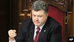 Ukraine's President Petro Poroshenko, Dec. 2, 2014.
