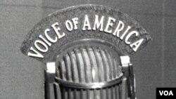 """Amerika Ovozi"" mikrofoni. Arxiv."