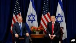 قطع کمک به فلسطینی ها پیشتر در دیدار پرزیدنت ترامپ و نتانیاهو مطرح شده بود.
