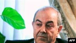 Lãnh tụ phe Iraqiya, Ayad Allawi