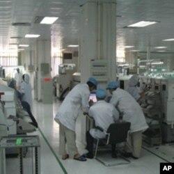广东的高科技工厂(资料照片)