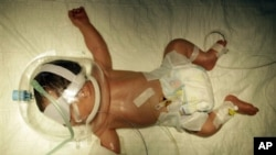 Menurut para pakar, keharusan mengganti plester setiap hari atau mencabutnya saat bayi-bayi itu sudah sehat untuk dibawa pulang, merupakan proses yang menyakitkan, bahkan berbahaya untuk kesehatan bayi (foto: dok).