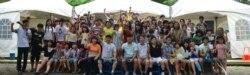 한국 내 탈북 청소년 학교, 퇴직 봉사단과 탁구대회 가져