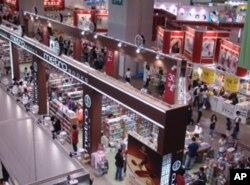 香港书展大厅一隅