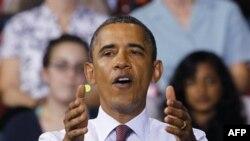 Barak Obama yeni iş yerləri planının təsdiqinə dair Konqresə təzyiq göstərilməsinə çağırıb