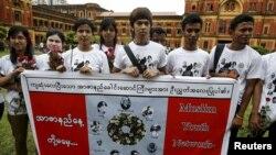 Wasu Matasan kasar Burma