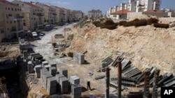 约旦河西岸的一个犹太人定居点(资料照片)