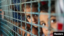 فلسطینی بچے (فائل فوٹو)