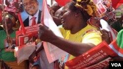 Apoiantes da Frelimo