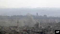 Latakia, Syria after shelling by tanks and naval ships Sunday, August 14, 2011