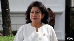 Menteri Kesehatan Nila Moeloek (foto: dok).