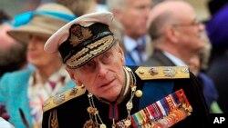 Príncipe Philip (imagem de arquivo)