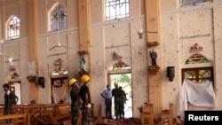 Một nhà thờ ở Sri Lanka bị tấn công.