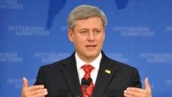 درخواست کانادا از رهبران گروه ۲۰ برای کاهش کسری بودجه و بدهی های ملی
