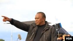 Rais wa Kenya Uhuru Kenyatta katika picha