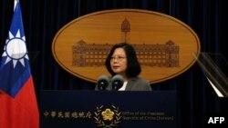 台灣總統蔡英文。(資料圖片)