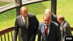 Министры иностранных дел и обороны России в Вашингтоне