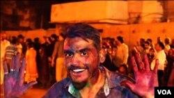 کراچی: ہولی کے تہوار کی تصویری جھلکیاں