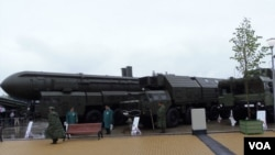 Russia attaches importance to its nuclear power and Putin unveiled to develop super weapons. (File)