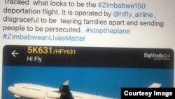 Britain has deported 14 Zimbabweans, according to lawyers representing the deportees. (Photo: Barac/Twitter)