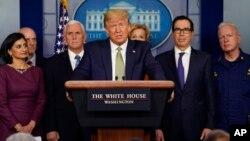 Пресс-брифинг в Белом доме